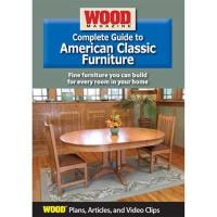 Complete Guide to American Classic Furniture DVD