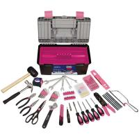 Apollo Tools 170 pc. Household Tool Kit Pink Model DT7102P
