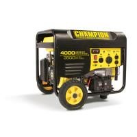 Champion 3500-4000W Generator with Remote Start CARB Certified Model 4