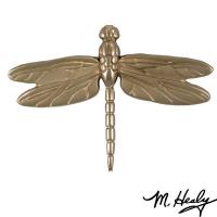 Michael Healy Designs Dragonfly in Flight Door Knocker Brushed and Pol