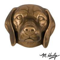 Michael Healy Designs Dog Knockers Beagle Door Knocker Bronze