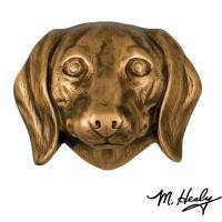 Michael Healy Designs Dog Knockers Dachshund Door Knocker Bronze