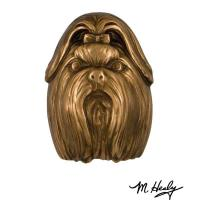 Michael Healy Designs Dog Knockers Shih Tzu Door Knocker Bronze