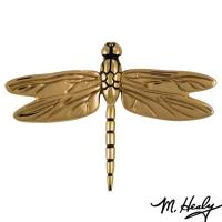 Michael Healy Designs It's My Door! Dragonfly in Flight Door Knocker P
