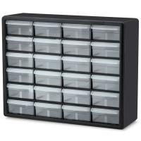 Akro-Mils 24 Large Drawer Stackable Storage Center Model 10724 Set of