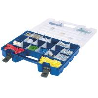 Akro-Mils 18in Dual Lid Portable Organizer Model 06318 Set of Four
