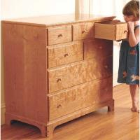 Fine Woodworking Chest of Drawers - Paper Plan