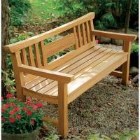 Fine Woodworking Japanese Garden Bench - Paper Plan