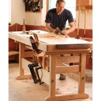 Fine Woodworking A Workbench 30 Years in the Making - Paper Plan
