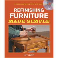 Refinishing Furniture Made Simple Book with DVD