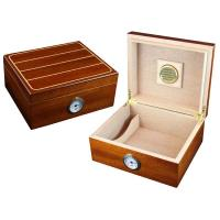 Walnut with White Trim Humidor