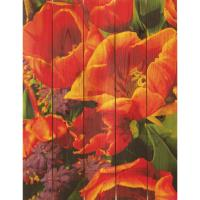 Daydream Gizaun Cedar Wall Art Full Bloom 16