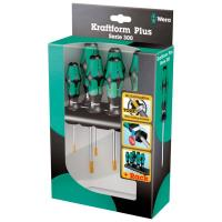 Wera 367/7 TORX HF Kraftform Plus Screwdriver Set with Rack