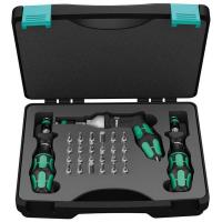 Wera 7440/41/42 Kraftform Adjustable Torque Screwdriver Set