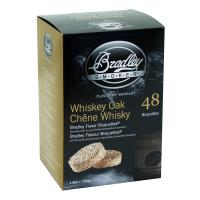 Bradley Smoker Whiskey Oak Bisquettes 48 Pack