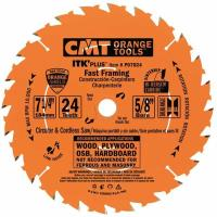 CMT P07024-X10 Fast Framing Saw Blade 7-1/4