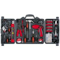 Apollo Tools 161 pc. Household Tool Kit with Rechargeable Screwdriver