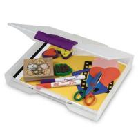 Akro-Mils Scrapbook / Craft Case Set of Six