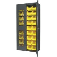 Akro-Mils Secure View AkroBin Cabinet with Assorted Bins 36
