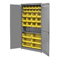 Akro-Mils Ready-to-Assemble Cabinet with 30 AkroBins 36