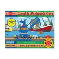 Melissa and Doug Swivel and Lift Magnetic Crane