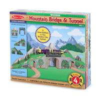 Melissa and Doug Mountain Bridge and Tunnel