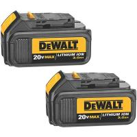 DeWalt 20V MAX Lithium Ion Battery Pack (3.0 Ah) 2 Pieces Model DCB200