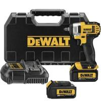 DeWalt 20V MAX Lithium Ion Impact Wrench Kit with Hog Ring (4.0Ah) 3/8