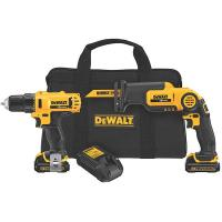 DeWalt 12V MAX Drill/Driver/Reciprocating Saw Combo Kit Model DCK212S2