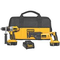 DeWalt 18V Cordless XRP Hammer Drill/Reciprocating Saw Combo Kit Model