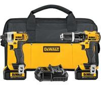 DeWalt 20V MAX Lithium Ion Compact Hammerdrill and Impact Driver Combo