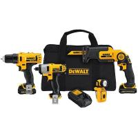 DeWalt 12V MAX Li-Ion 4-Tool Combo Kit Model DCK413S2