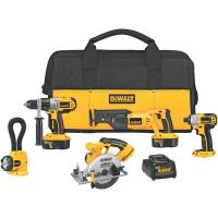 DeWalt 18V Cordless XRP 5-Tool Combo Kit Model DCK555X
