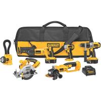 DeWalt 18V Cordless XRP 6-Tool Combo Kit Model DCK655X