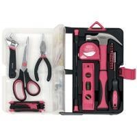 Apollo Tools 126 piece Kitchen Drawer Tool Kit Pink
