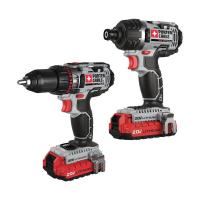 Porter Cable 20V Max Lithium 2 Tool Combo Kit Model PCCK602L2