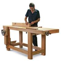 Roubo Bench with Bench Crafted Vises Woodworking Paper Plan