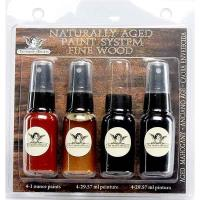 Tattered Angels Naturally Aged Faux Finish Paint Kit Aged Mahogony