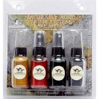 Tattered Angels Naturally Aged Faux Finish Paint Kit Rusty Metal