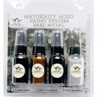Tattered Angels Naturally Aged Faux Finish Paint Kit Tarnished Silver
