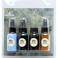 Tattered Angels Naturally Aged Faux Finish Paint Kit Weathered Copper