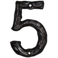 Buck Snort Lodge LHN5-ORB Log House Number 5 Oil Rubbed Bronze 1 piece
