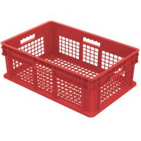Akro Mils Straight Wall Containers Red 23.75