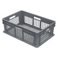 Akro Mils Straight Wall Containers Gray 23.75