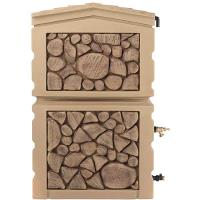RTS Home Accents Northland Water Collection Tank 47 gallon Oak Brown