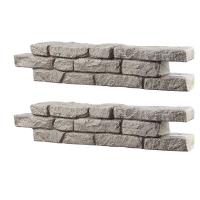 RTS Home Accents Rock Lock Residential Pack with 2 Straight Sections a