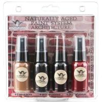 Tattered Angels Naturally Aged Faux Finish Paint Kit Red Brick