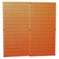 Wall Control Orange Metal Pegboard Pack - Two Pegboard Tool Boards
