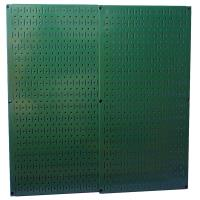 Wall Control Green Metal Pegboard Pack - Two Pegboard Tool Boards