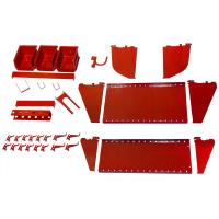 Wall Control Slotted Tool Board Workstation Accessory Kit for Wall Con